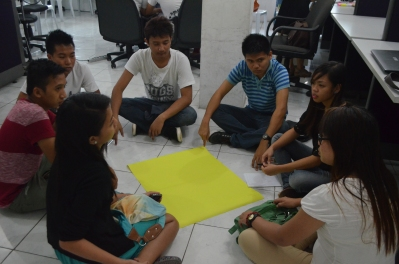 Laoag Futures Workshop on Students Scenarios on Philippine Higher Education Futures