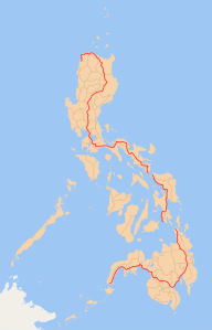 The Maharlika Highway Map