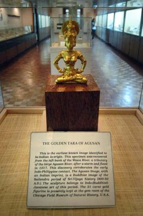 The spiritual context - Babaylan? Maharlika? The re-emergence of the Golden Tara - a Hindu-Malayan goddess and mother of liberation, creation, compassion and mercy. Source: Kin Enriquez, http://www.boardinggate101.com/2013/04/golden-tara-of-agusan.html