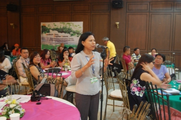 Shiela Castillo, climate reality presenter, shares her views on DRRM and city futures