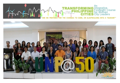 WFSF Learning Lab on futures literacy for women city leaders, Vigan City, 2015