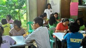 Community based foresight planning DAR event, Banna, Ilocos Norte, 2015